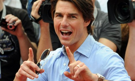 Tom Cruise 'rescues' reporter from being sacked in Munich