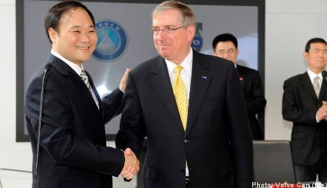 Geely expects third quarter Volvo deal