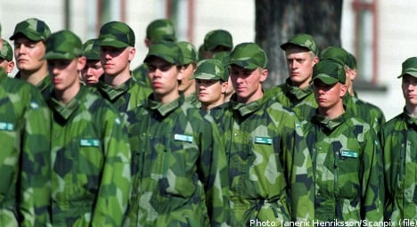 Military service comes to an end in Sweden