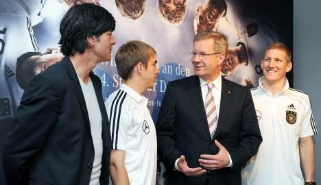 German president to honour Löw and team as 'ambassadors'