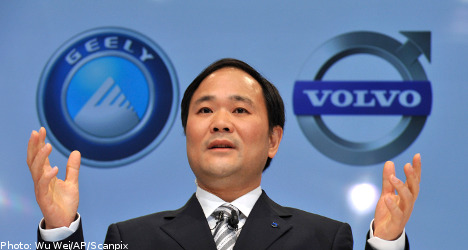 Geely head to lead Volvo Cars