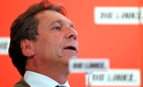 Left party boss probed over travel expenses