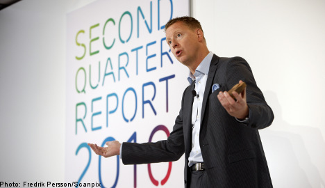 Ericsson Q2 sales disappoint, shares drop