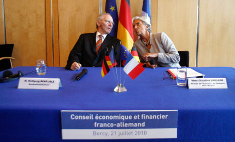 Berlin and Paris aim to block voting rights for EU deficit offenders