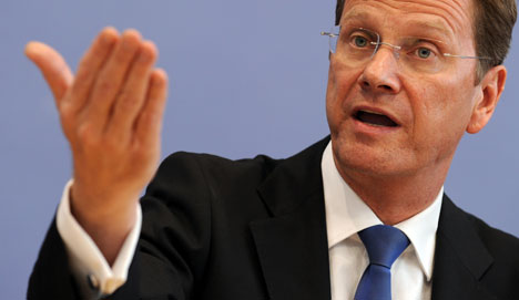 Westerwelle: Germany needs foreign workers