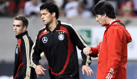 No place for Ballack in Germany squad