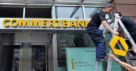 Brüderle says Germany to sell Commerzbank stake in three years