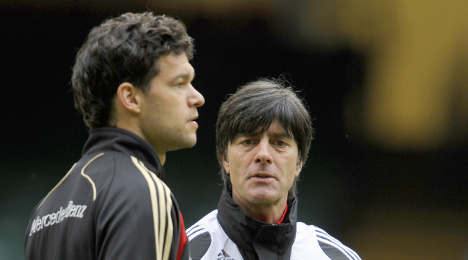 Ballack left out of Euro qualifiers
