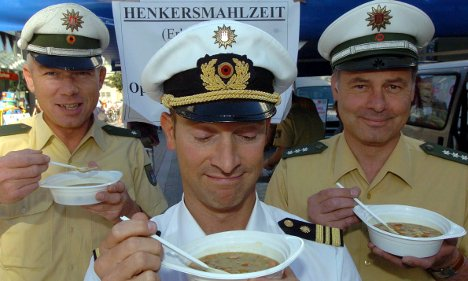 Rhineland police complain of 'intolerable' food from caterers