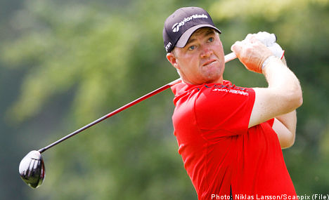 Hanson shoots into Ryder Cup contention