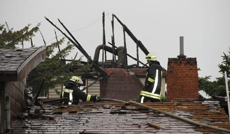 Sylt authorities suspect arson as fires continue