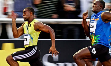 Gay outsprints Bolt in Stockholm showdown