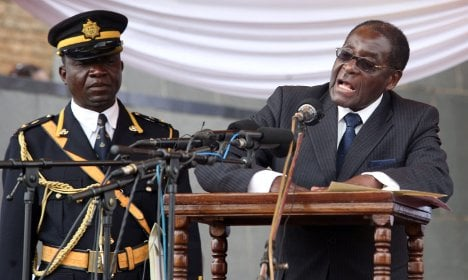 German envoy among diplomats told to 'go to hell' by Mugabe