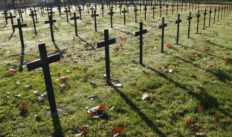 French teen sentenced for desecrating German WWI graves