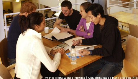 'Free tuition for students who stay in Sweden'