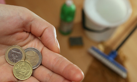 German wage rises lowest in Europe