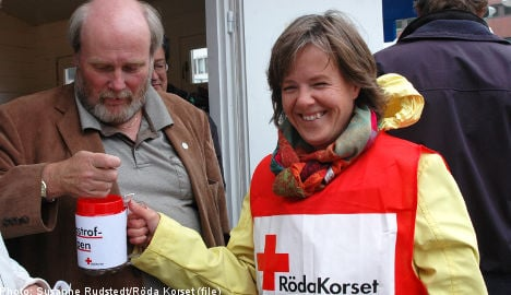 Swedes perform poorly in charitable giving survey
