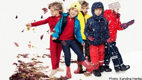 Swedish stripy clothing firm opens US store