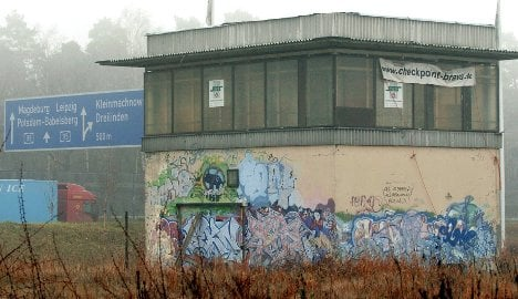 Cold War 'Checkpoint Bravo' up for sale