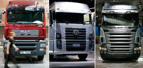 Truckmakers probed for alleged UK price-fixing