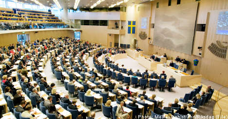 Riksdag revamp could limit far-right: reports
