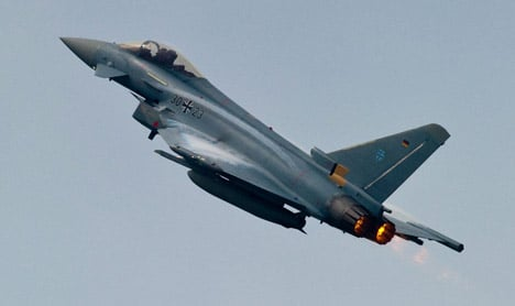Luftwaffe grounds Eurofighter after ejector seat glitch