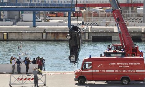 German tourists killed in freak ferry accident at Genoa harbour