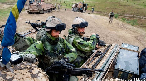 Swedish military issues foreign duty ultimatum