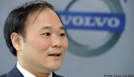 China's Geely outlines ambitious Volvo plans