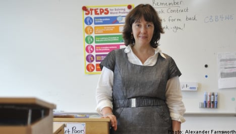 Stockholm teacher redefines what it means to dress for success