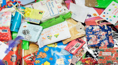 Christmas letters flood in to Swedish post office