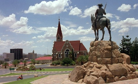 Colonial German church celebrates 100 years in Namibia