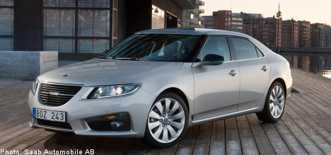 Saab's luxurious new 9-5 is ready for take off