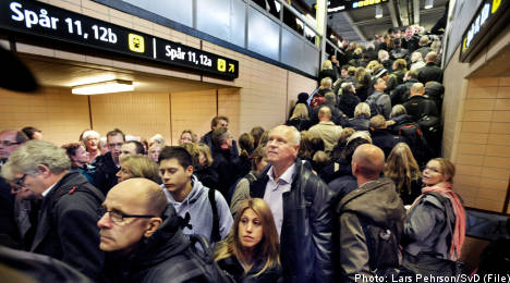 Swedish travelers hit by more train cancellations