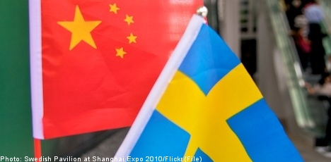 Swedes working in China doubles in five years