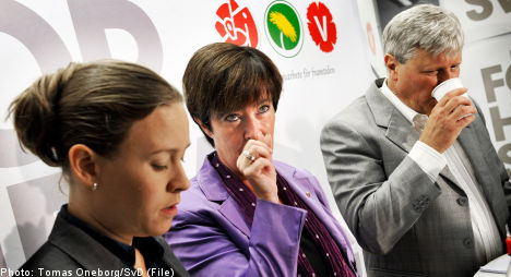 Red-Greens breaking up: Sahlin