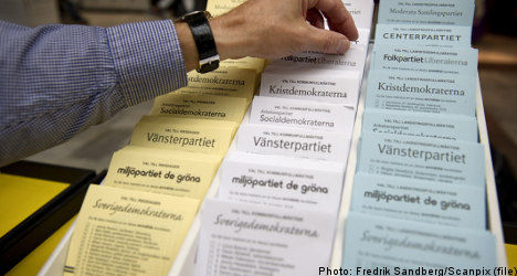 Record number appeal Swedish election result