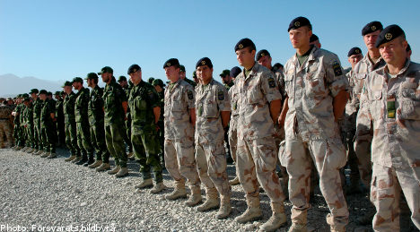 Swedish officer badly hurt in Afghanistan