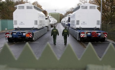 Police and activists gear up for nuclear showdown