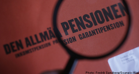 Swedes show little faith in pensions agency