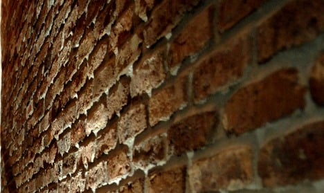 Pensioner builds brick wall and traps himself in basement