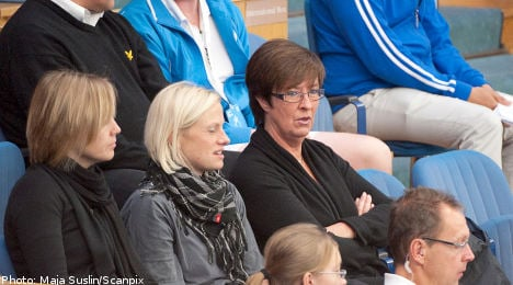 Sahlin in the clear over tennis ticket gift