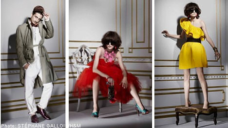 H&M gives frugal fashionistas a new taste of haute couture