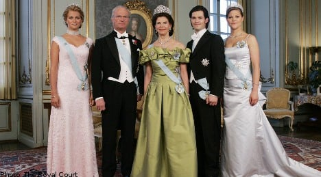Support for Swedish monarchy increases