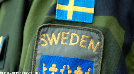 Afghan refugees used to train Swedish soldiers