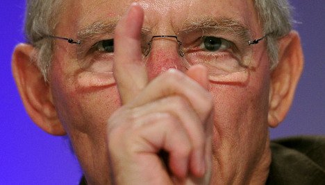 US has lost its way, Schäuble thunders