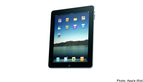 Swedes launch campaign to dodge iPad duties