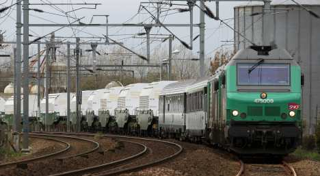 Nuclear waste train enters Germany