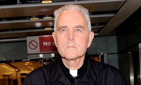 Holocaust-denying bishop turns to lawyer with neo-Nazi links