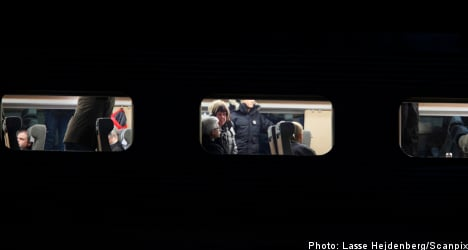 Swedish train services halted across country